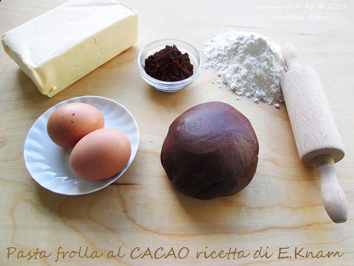 pasta frolla cacao La cucina di ASI © 2015 Annalisa Altini