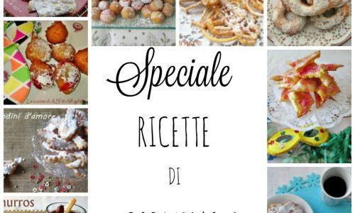 SPECIALE CARNEVALE Raccolta ricette dolcetti