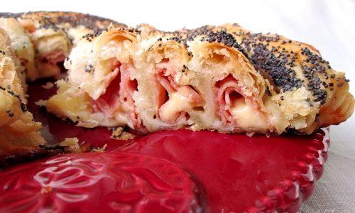 ROTOLO DI PASTA SFOGLIA  FARCITO Ricetta torta salata