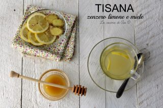 tisana con zenzero limone e miele