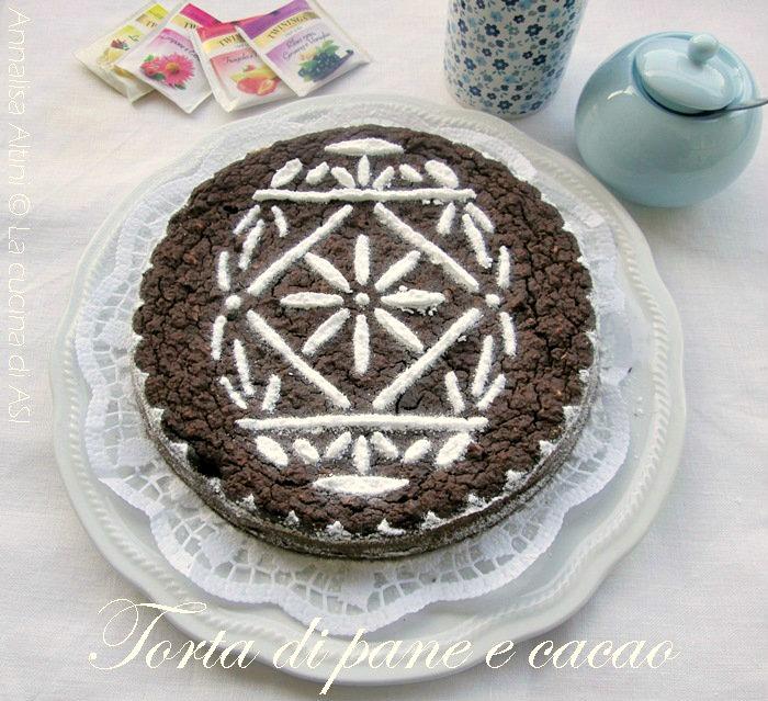 torta di pane e cacao