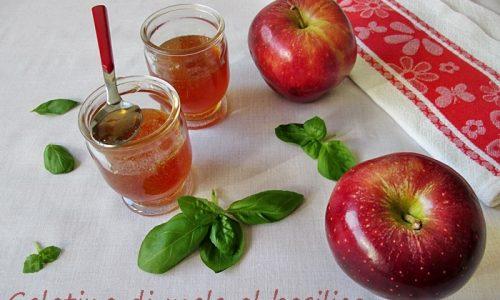GELATINA DI MELE AL BASILICO Ricetta conserva di frutta