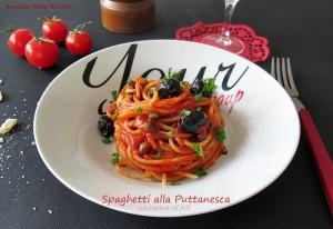 Spaghetti alla puttanesca La cucina di ASI © 2015 Annalisa Altini