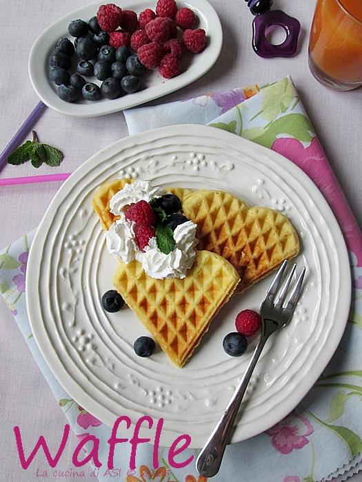 Waffle de La cucina di ASI © 2015