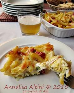 ipiccy Maccheroncini provola salame La cucina di ASI © 2015