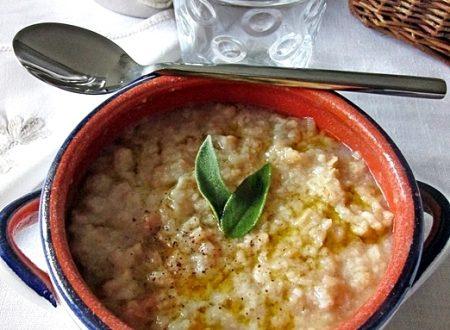 PANCOTTO Ricetta  primo piatto emiliano-romagnolo