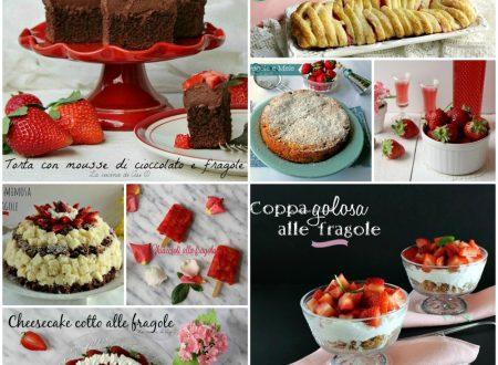 RICETTE CON LE FRAGOLE Ricette dolci e semifreddi