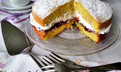 VICTORIA CAKE Ricetta dolce