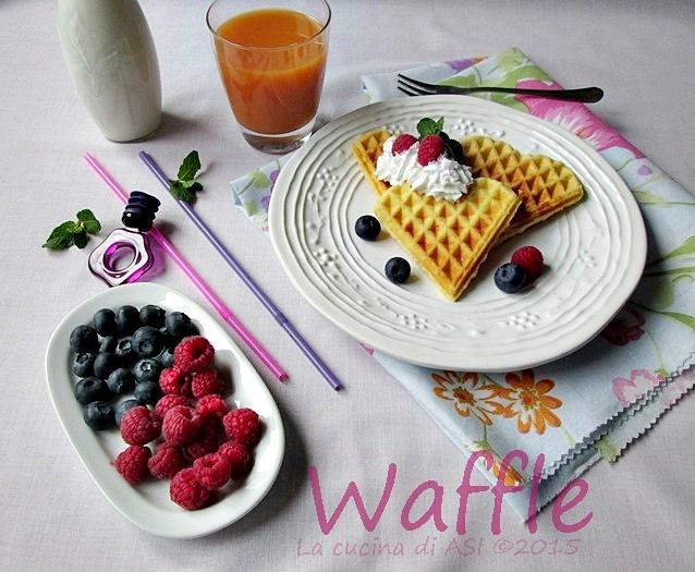 waffle La cucina di ASI © 2015 OK