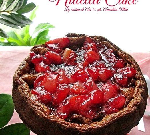 NUTELLA CAKE Ricetta senza burro, farina, lievito, zucchero
