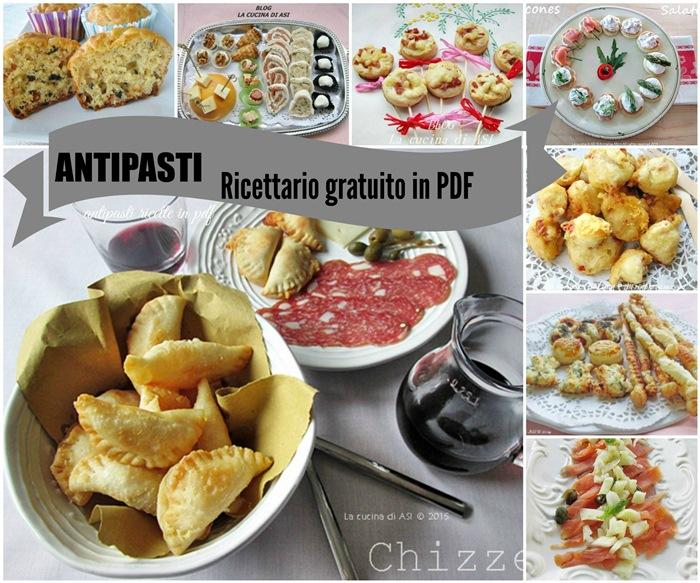 Antipasti ricettario pdf ricette golose e veloci antipasti for Ricette di cucina antipasti