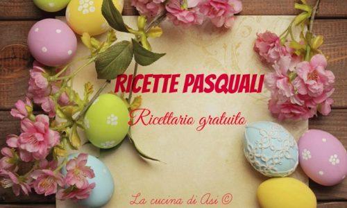 RICETTE DI PASQUA Ricettario in pdf scaricabile gratuitamente