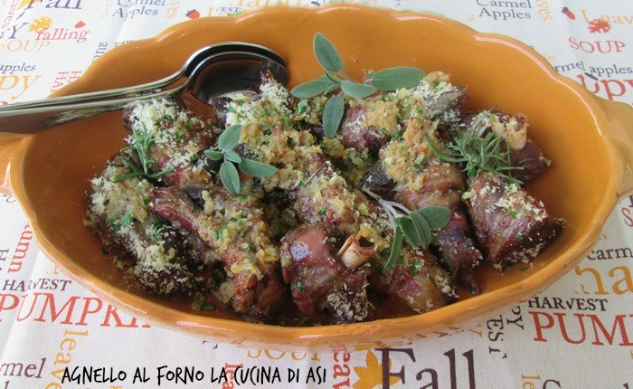 AGNELLO AL FORNO Ricetta secondo piatto di carne