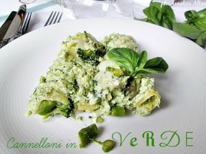 cannelloni in verde de La cucina di ASI 2015 annalisa