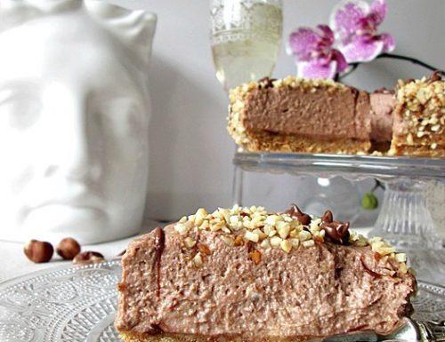 Cheesecake alla Nutella – Ricetta dolce senza cottura