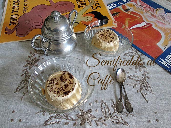 il semifreddo al caffè La cucina di ASI ©