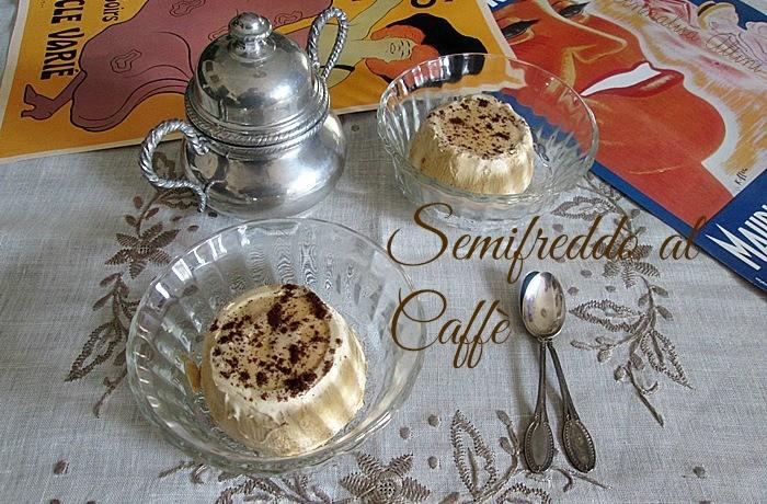SEMIFREDDO AL CAFFE' Ricetta dolce