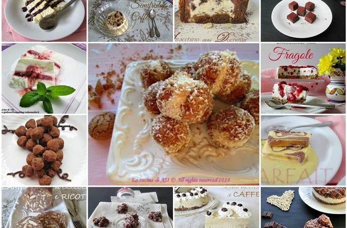 DOLCI SENZA FORNO Raccolta ricette