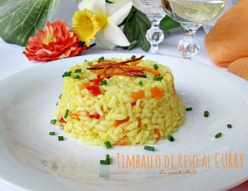 Timballi di riso al curry – Ricetta primo piatto