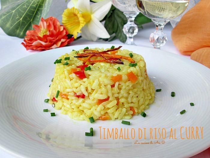 TIMBALLo di riso La cucina di ASI
