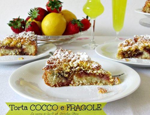Torta fragole e cocco – Ricetta dolce