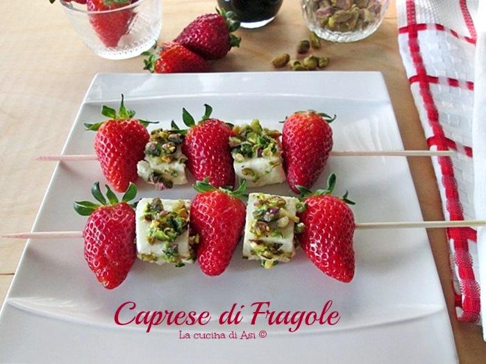 caprese fragole La cucina diASI 2015 Annalisa Altini ©