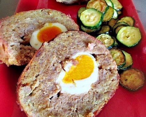 POLPETTONE CON UOVA Ricetta secondo piatto di carne