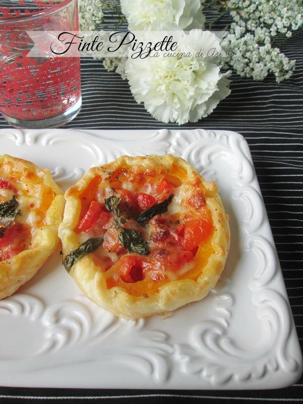 le finte pizzette La cucina di Asi