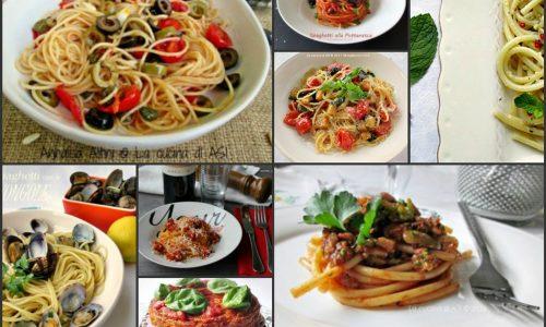 SPAGHETTI E BUCATINI Raccolta ricette