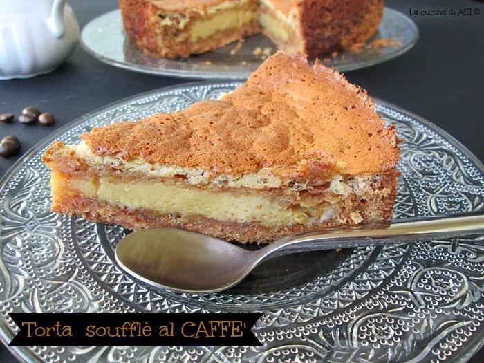 TORTA SOUFFLE' AL CAFFE'