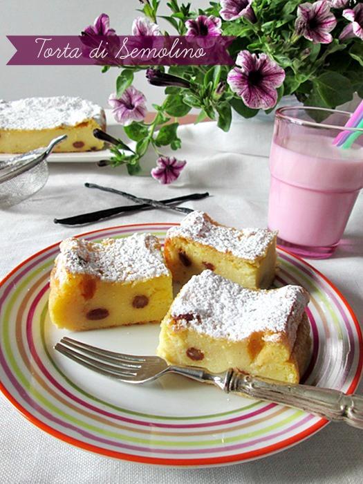 torta di semolino La cucina di ASI © 2015