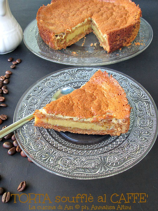 torta souffle caffe La cucina di ASI ©