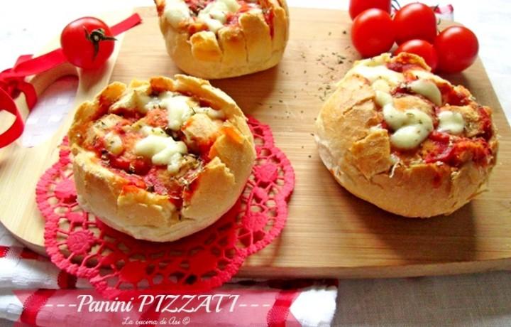PANINI PIZZATI Ricetta finger food