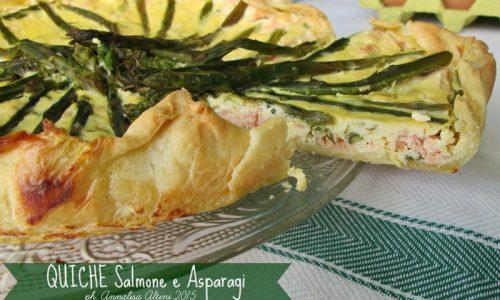 QUICHE CON SALMONE E ASPARAGI Ricetta torta salata