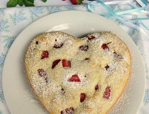 Cuore di fragole Ricetta dolce