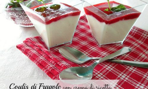 COULIS DI FRAGOLE Ricetta dolce