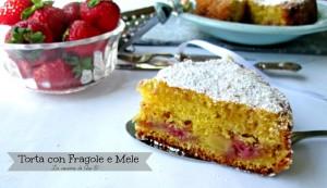 torta DI fragole e mele La cucina di ASI © 2015