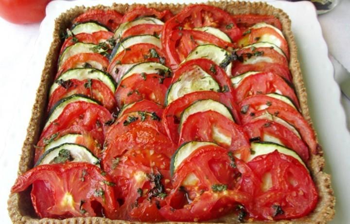 TORTA SALATA DI ZUCCHINE E POMODORI Ricetta torta salata