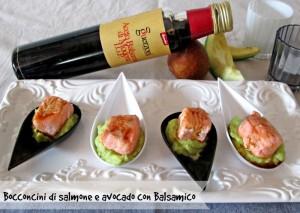 bocconcini salmone a vocado
