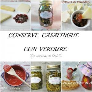 conserve casalinghe con verdura