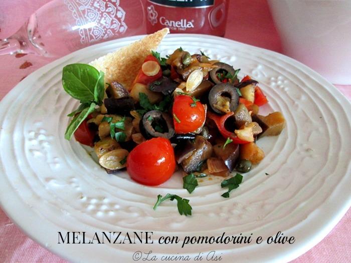 melanzane con pomodorini La cucina di ASI
