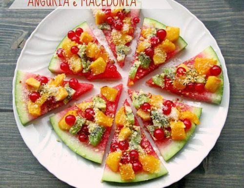ANGURIA E MACEDONIA Ricetta dessert di frutta