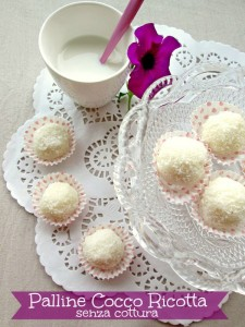palline cocco ricotta Blog La cucina di ASI