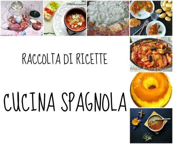 Raccolta di ricette spagnole sangria paella gazpacho e for Ricette cucina