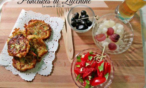 PANCAKES DI ZUCCHINE Ricetta fritto