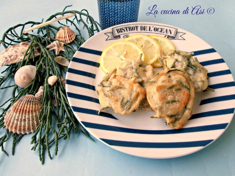 LE FRITTELLINE DI SALICORNIA La cucina di ASI blog 2015
