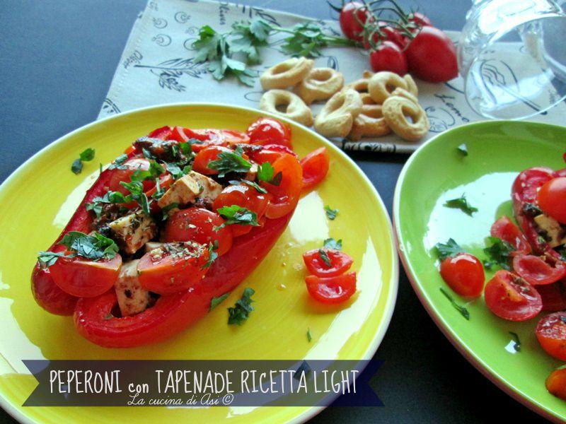 Peperoni tapenade light La cucina di ASI BLOG ©