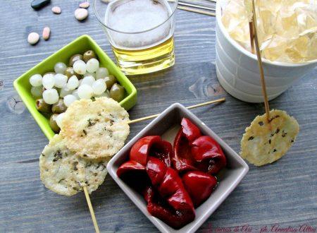 LECCA-LECCA AL  PARMIGIANO Ricetta antipasto finger food