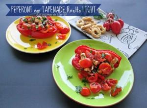 peperoni al forno con tapenade ricetta light La cucina di ASI
