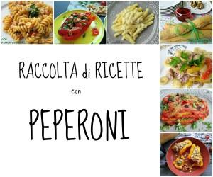 peperoni raccolta ricette